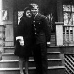 Lionel with his new girlfriend, Yolande Danis on novcember 12, 1944.